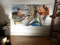 brooklyn_babe_mary_dee_1_oil on canvas
