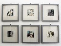 Akt Serie/ 2011/ Aquarell auf Büttenpapier/je 9 x9 cm