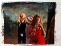 Kunst ist eine Diva 1/2007/ Acrylic on photographic paper/ 29,5 x 21