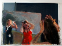 Kunst ist eine Diva 2/2007/ Acrylic on photographic paper/ 29,5 x 21 cm