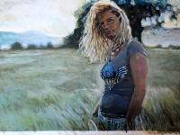 Summerlove/ 2009/ Acrylic on photographic paper/ 42 x 30 cm
