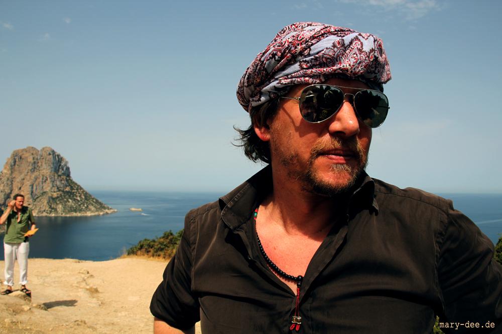 photo shoot ibiza music production, Fotoshooting /Es Vedrà - Ibiza