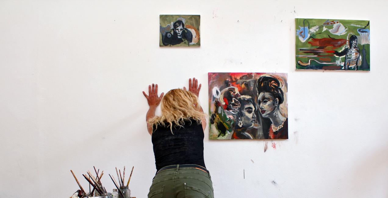 Malerei mary dee