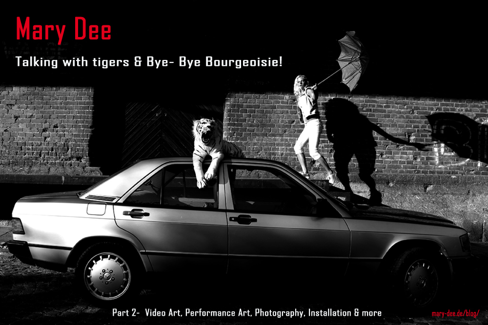 Talking with tigers & Bye Bye Bourgeoisie! Contemporary art